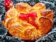 Коледна погача със сусам